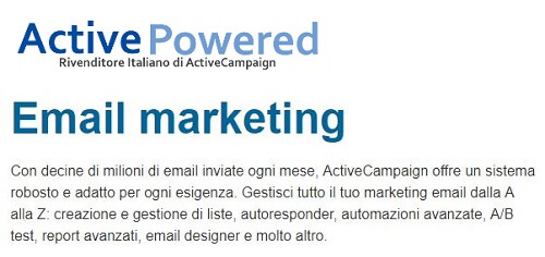 activepowered email marketing