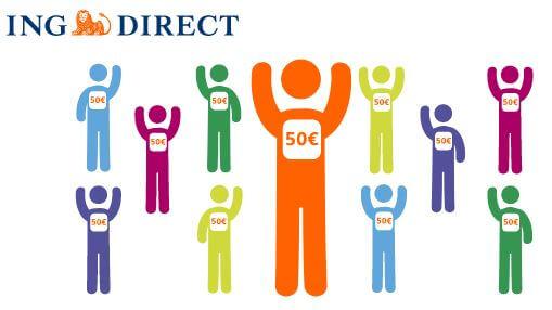 Da oggi l'amicizia vale di più. Per te fino a 500€ Apri Conto Corrente Arancio con il Codice Amico: riceverai 50 euro