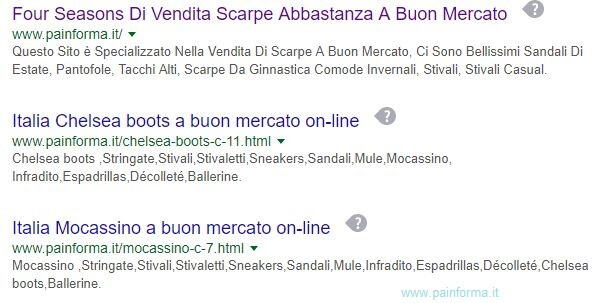painforma su google