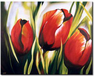 quadro soggetto floreale