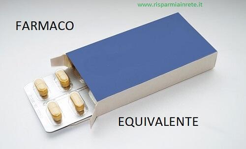 elenco farmaci equivalenti o generici