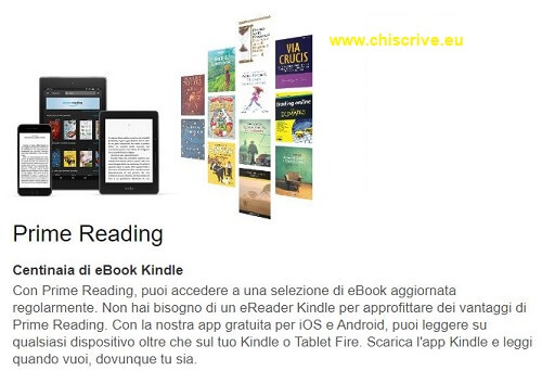 Amazon Prime Reading presentazione