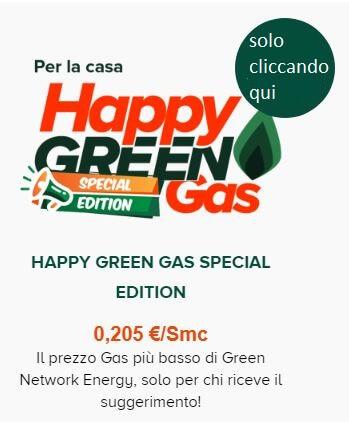 Offerta green gas