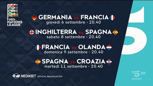 nations league su canale5