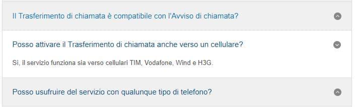 trasferimento chiamata TIM verso mobile