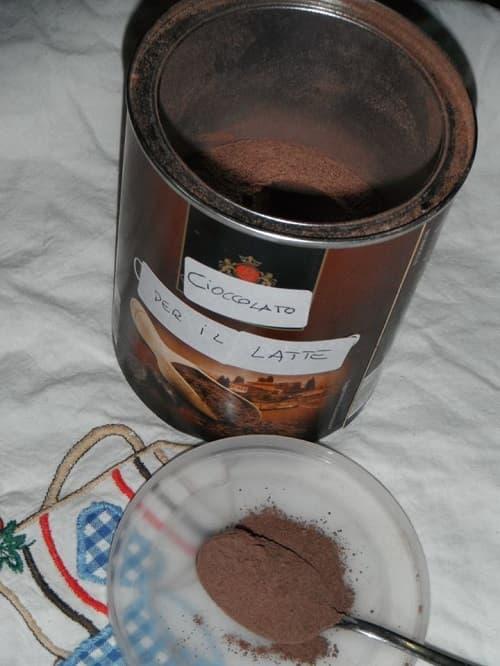 cioccolato solubile fatto in casa