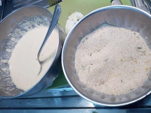 preparato per la pastella