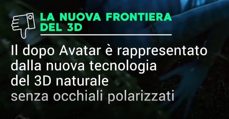 3D senza occhiali alla Mostra del Cinema di Venezia