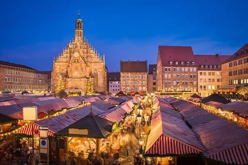 Mercatino di Natale A Norimberga