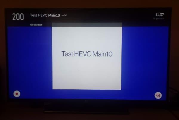 test HEVC