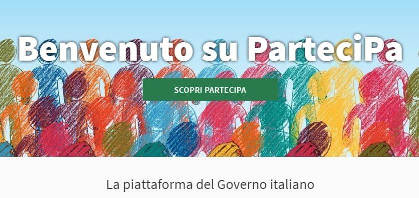ParteciPA - Ministero della Pubblica Amministrazione