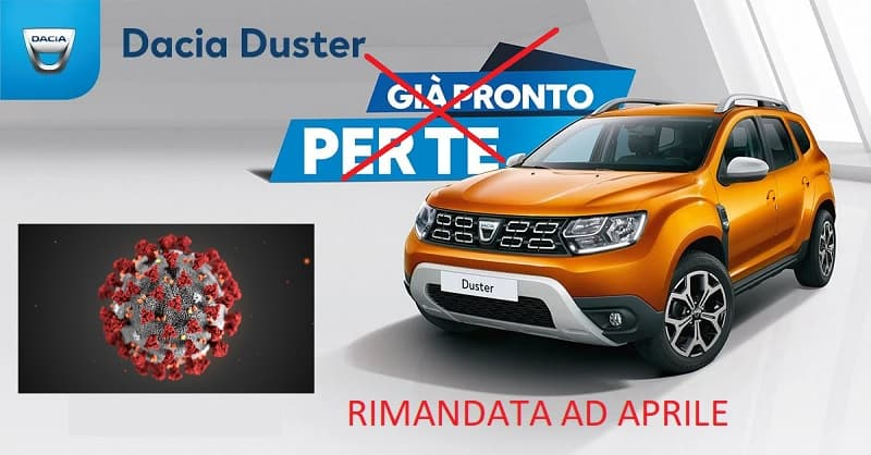 Concessionario Dacia chiuso per coronavirus